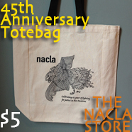 45th Anniversary NACLA Totebags on Sale