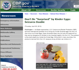 Blending The Lines: The U.S. Border War on Easter Eggs