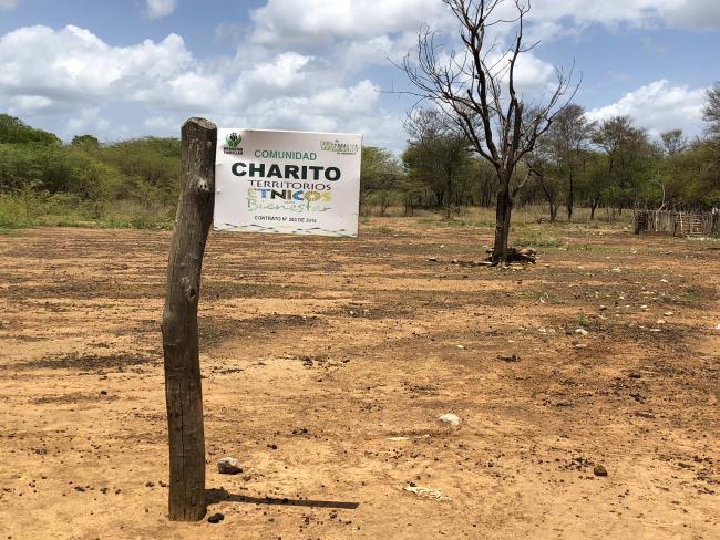 En Charito, una comunidad Wayúu. (Hilda Lloréns)