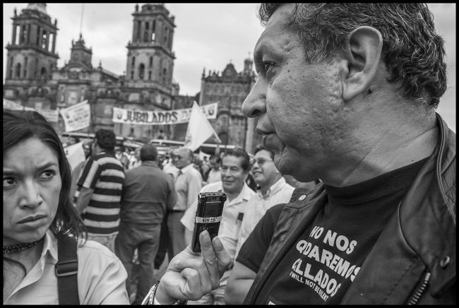 Humberto Montes de Oca (Photo by David Bacon)