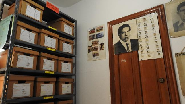 Files related to cases of forced disappearances seen in the GAM office. (GAM)