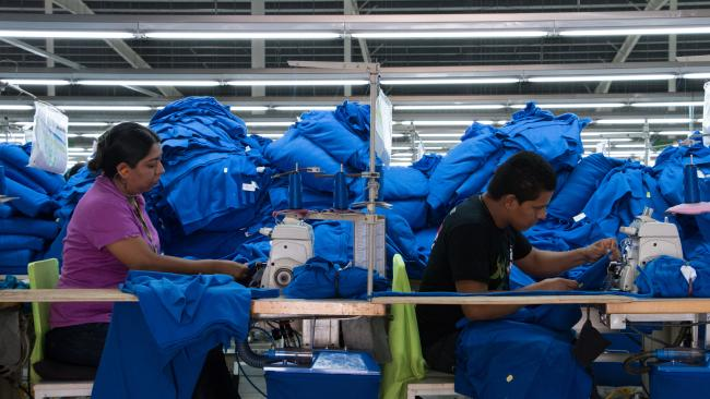 Factory workers in a free trade zone in Nicaragua (Photo by Sandrine Corbeil / Flickr)