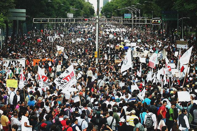 Massive protests in Mexico City following news of the state's role in the disappearance of 43 students in Ayotzinapa (APshot)