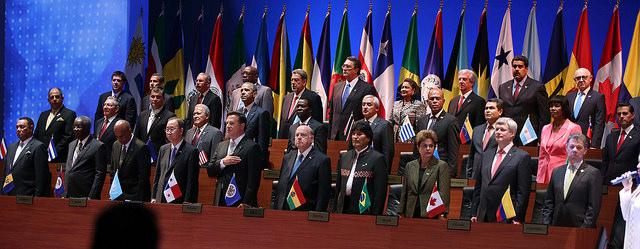 Heads of State at the Summit of the Americas on April 10 (Office of the President of the Republic of Ecuador/Creative Commons).
