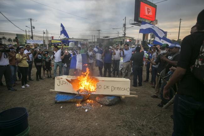 Protests in Nicaragua taken on May 8 2018 (Jorge Mejía Peralta/Flickr)