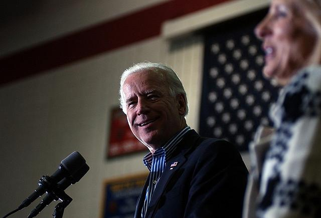 Vice President Biden at a Rally (BethRankin/CreativeCommons)
