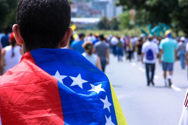 A protest in Altamira, Venezuela on October 26, 2016 (Hugo Lodoño/Flickr)