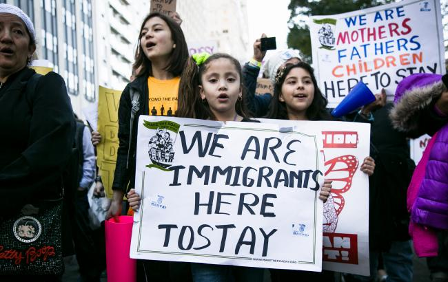 An anti-Trump rally in New York City on November 13 (Karla Ann Coté/ Flickr)