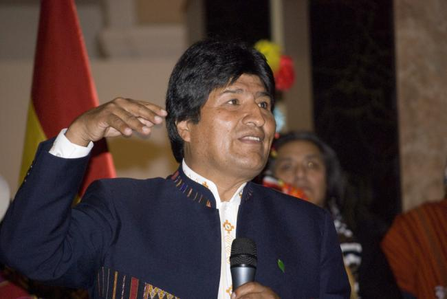 Evo Morales (Sebastian Baryli/Flickr)