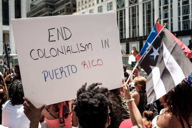 At this year's Puerto Rican Day Parade, pro-independence messages came out strong. (Ep Jhu/Flickr)