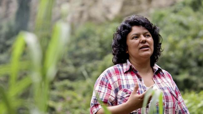 Berta Cáceres was murdered on March 2, 2016. (Photo by Goldman Environmental Prize)