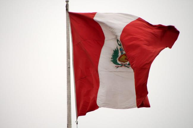 The Peruvian flag (Photo by Christian Haugen/Flickr)