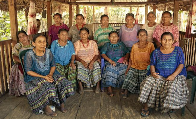 The Q'eqchi women of Sepur Zarco were forced into sex slavery during Guatemala's civil war. The trial against the perpetrators ended in the conviction of senior military officers last year. (UN Women/Ryan Brown)