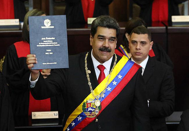 Nicolás Maduro (Photo by Presidencia El Salvador/Flickr)