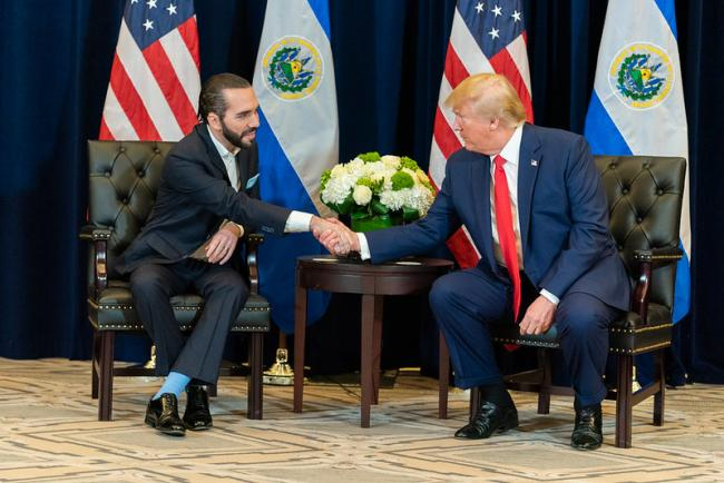 President Donald J. Trump participates in a bilateral meeting with El Salvador President Nayib Bukele Wednesday, Sept. 25, 2019 (Photo by The White House/Flickr)