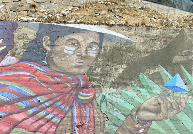 Street art in Cochabamba (Photo by MollySVH/Flickr)