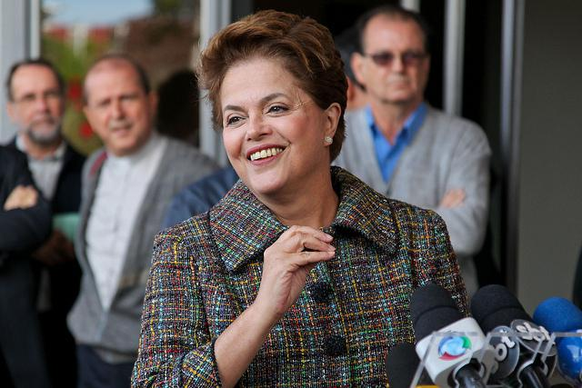 Brazilian President Dilma Rousseff (Rede Brasil Atual / Creative Commons).