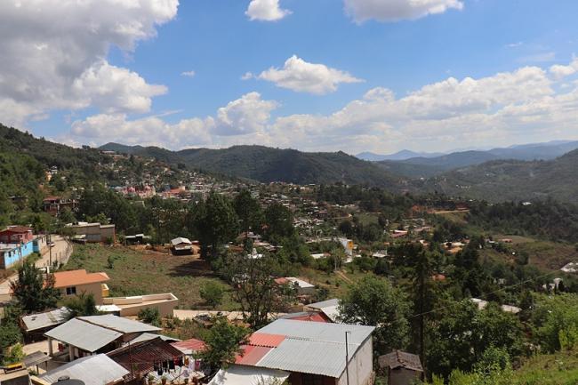Ayutla se encuentra en la Sierra Mixe al oriente de la ciudad de Oaxaca (Foto: Karen Rojas Kauffmann)
