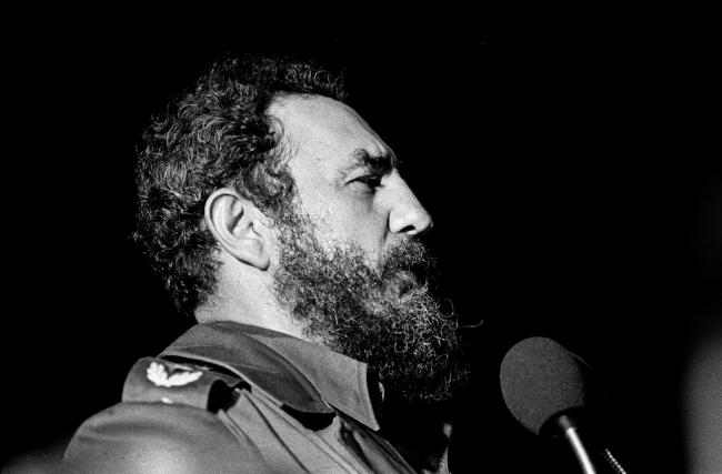 Fidel Castro in Havana in 1978.  Marcelo Montecino / Flickr