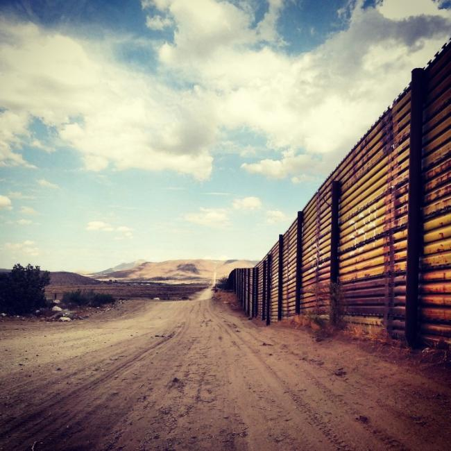 Mexico-U.S. border fence (Photo courtesy of author)