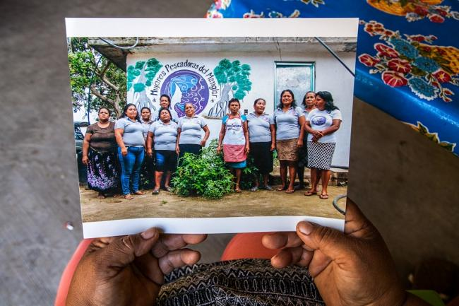 The Mangrove Fisherwomen's Cooperative was founded in 2016 to address the marginalization of women in the industry and environmental degradation of the lagoon. (Antonio Cascio)