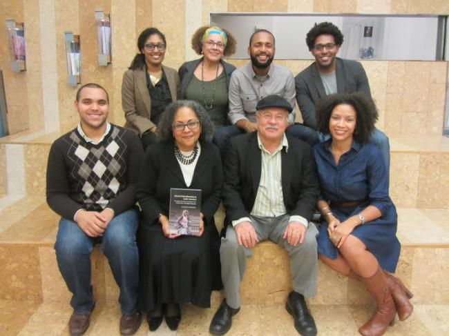 Founders and members at an afrolatin@ forum-sponsored event
