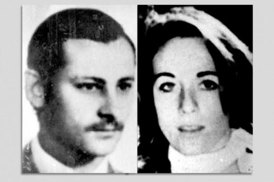 Stella Maris Montesano and Jorge Oscar Ogando (Photo courtesy of Lucía Cholakian Herrera)