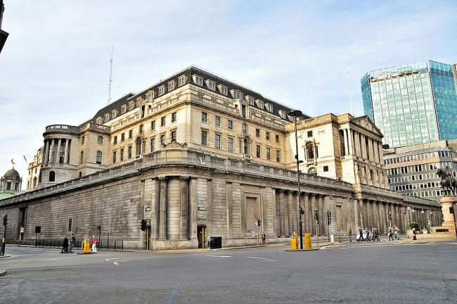 The Bank of England (Wikimedia Commons)