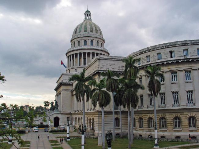 The Capitolio Nacional in Havana, Cuba (Michael Oswald/Wikimedia Commons)