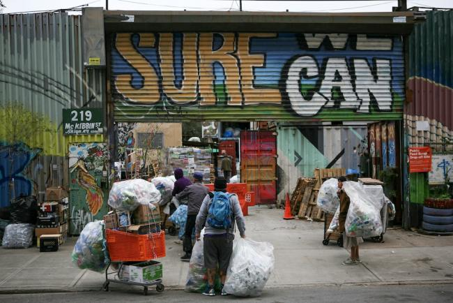 Exterior of Sure We Can, Brooklyn, New York. (Photo by Carlos Rivera)