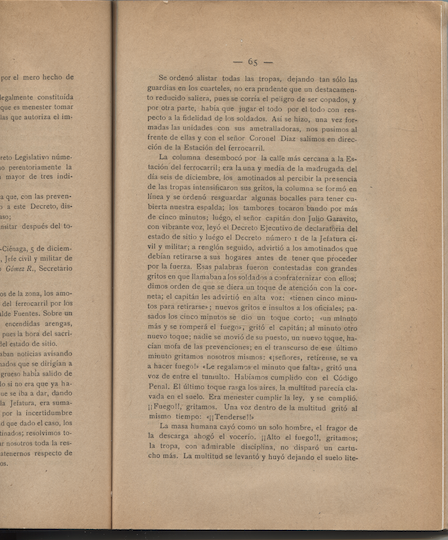From Carlos Cortés Vargas, Los sucesos de las bananeras (1929), p. 65.