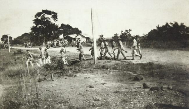 U.S. Marines during the occupation of the Dominican Republic in 1916 (Wikimedia Commons)