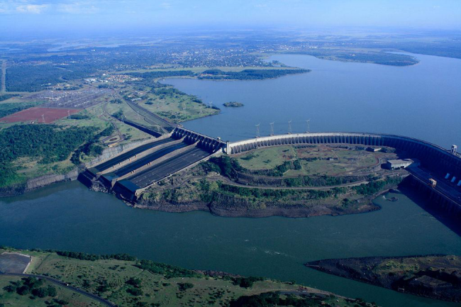 The Itaipu dam (Photo by International Hydropower Association (IHA)/Wikimedia)
