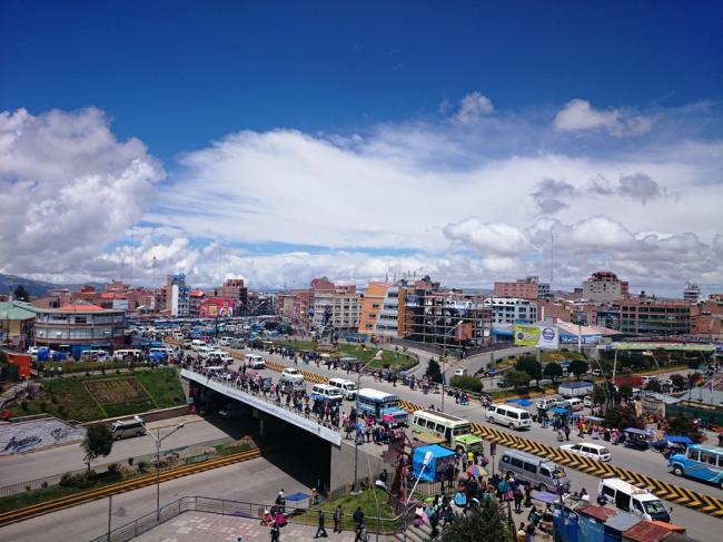 El Alto, Bolivia, where dozens were killed during the Gas War in 2003 (Olga Lidia Paredes Alcoreza/Wikimedia Commons)