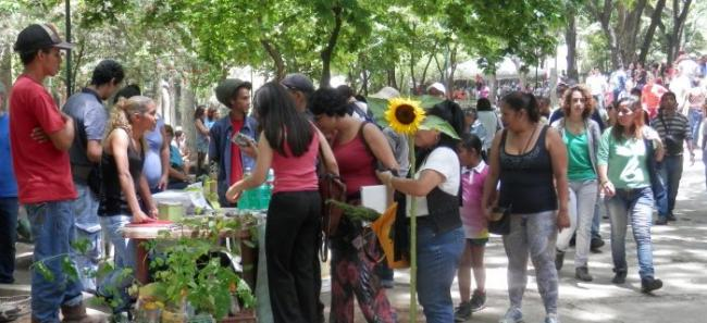The Feria Conuquera alternative market in Caracas (FoodFirst)