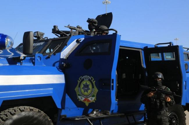 The Special Operations Group (GOPES) in Tamaulipas, Mexico, which has been implicated in several human rights violations. (Gobierno de Tamaulipas)