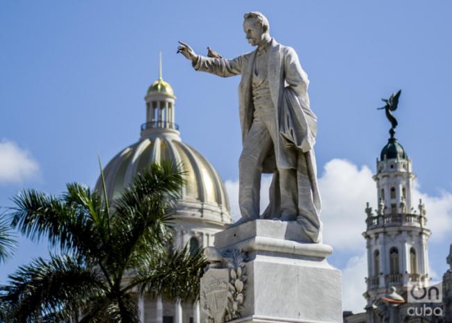 A statue of José Martí in Havana, Cuba. (Julio César Guanche)