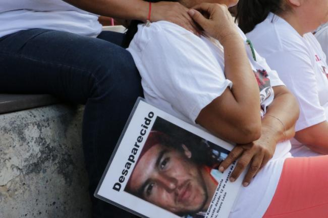Kristian Karim Flores, the son of Lourdes Huerta, disappeared Aug. 12, 2010. (Photo by Emily Corona)