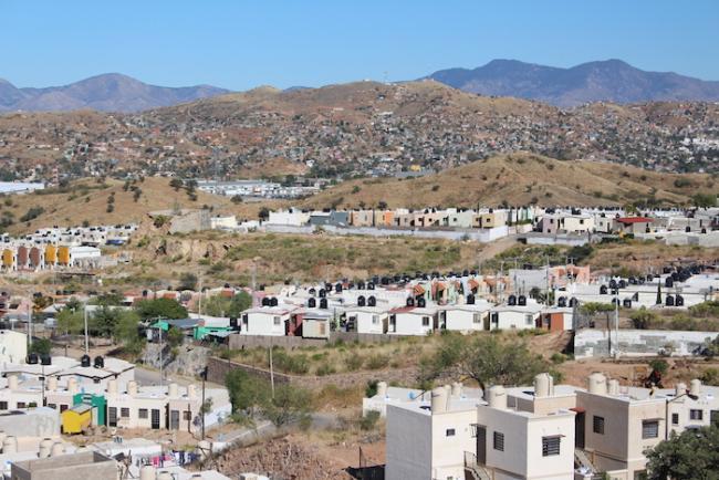 A view of Nogales. (Noah Silber Coats)
