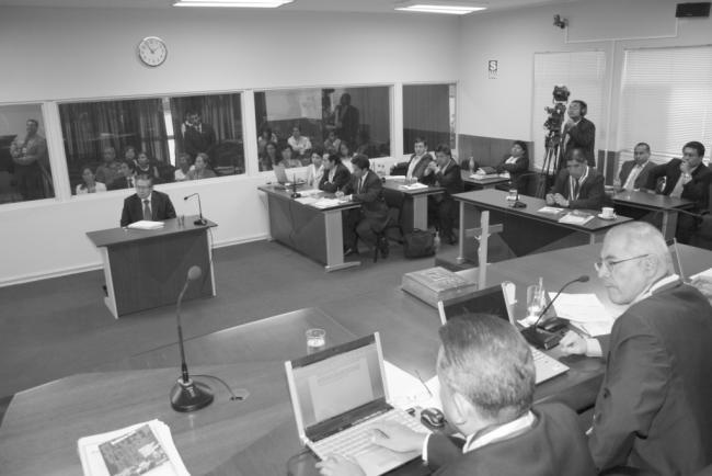 Fujimori Human Rights Trial (Poder Judicial)