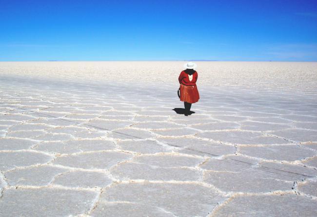 Bolivia's Uyuni salt flats, the largest known lithium reserve in the world. (Javier Ignacio Acuña Ditzel / Creative Commons)