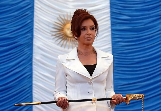 CFK in 2007 (Photo courtesy of Presidencia de la Nación Argentina/Wikimedia)
