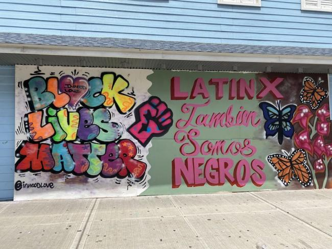 Graffiti in Inwood (Photo by Pedro A. Regalado)