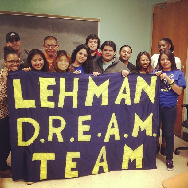 Lehman Dream Team Weekly Meeting (Photo courtesy of author)