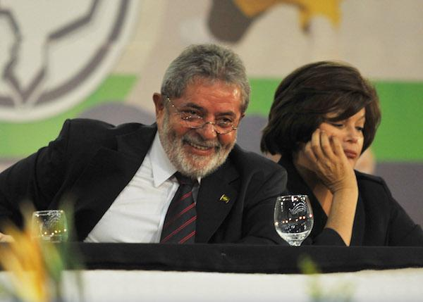 Luiz Inácio Lula de Silva with Dilma Rousseff in 2009. (Wikimedia Commons/Valter Campanato)