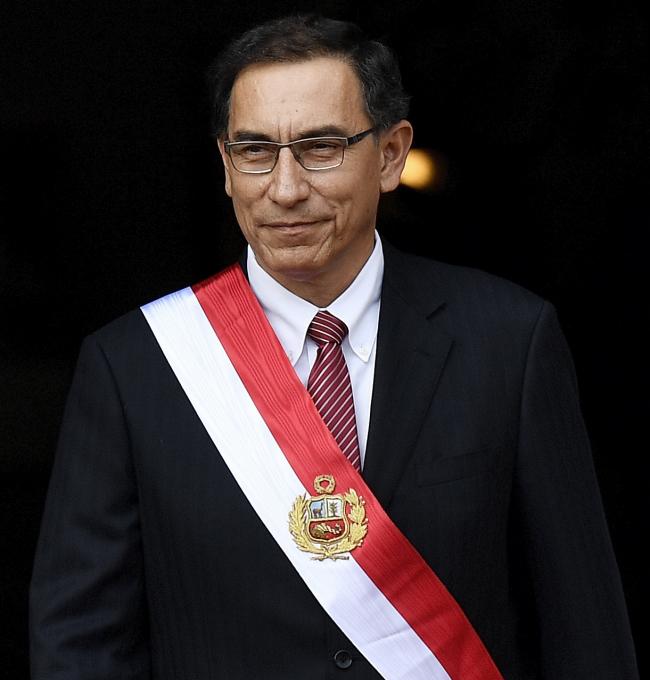 Martín Vizcarra (Galería del Ministerio de Relaciones Exteriores/Wikimedia)