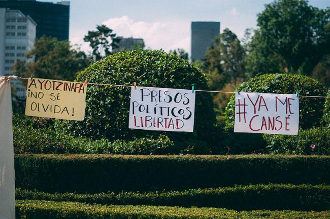 Ayotzinapa (Foto por Alvaro Sánchez/Flickr)