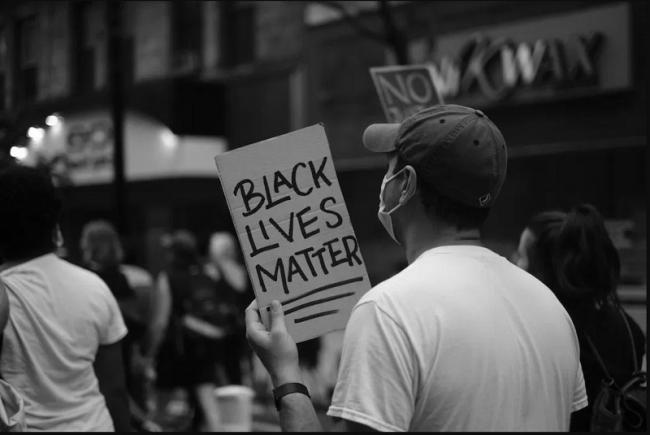 Protesters in New York City this summer during a march for Black Lives Matter (Photo: Erin O'Brien).
