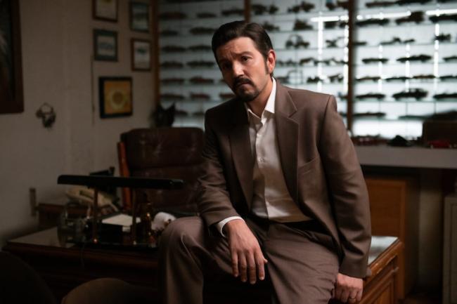 Diego Luna as Félix Gallardo (Carlos Somonte/Netflix)