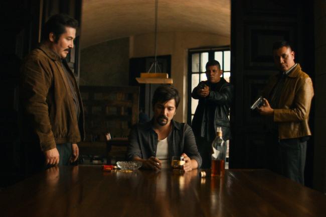 Diego Luna in Narcos Mexico (Netflix)